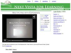 Multiplying with Exponents Video