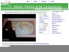 The Mathematics of Latitude and Longitude Video