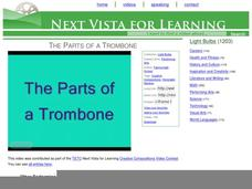 The Parts of a Trombone Video