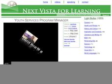Youth Services Program Manager Video