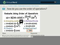 How Do You Use the Order of Operations? Video
