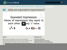 What are Equivalent Expressions? Video