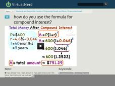 How Do You Use the Formula for Compound Interest? Video