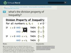 What's the Division Property of Inequality? Video