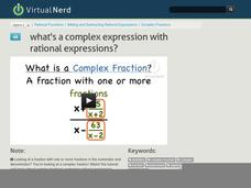 What's a Complex Expression with Rational Expressions? Video