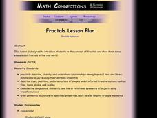 Fractals Lesson Plan
