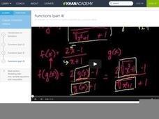 Functions (Part 4) Video