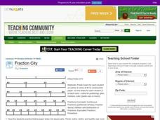 Fraction City Lesson Plan