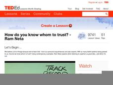 How Do You Know Whom to Trust? Video