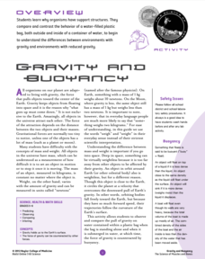 Space, Gravity, and the Human Body