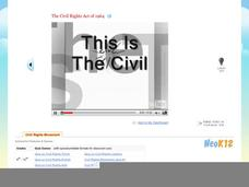 The Civil Rights Act of 1964 Video