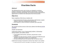 Fraction Facts Lesson Plan