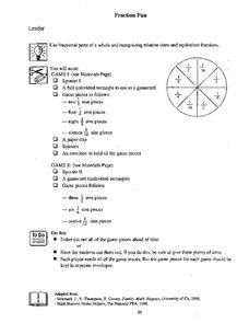 Fraction Fun Lesson Plan