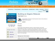 Building an Organic Molecule Lesson Plan