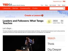 Leaders and Followers: What Tango Teaches Video