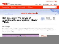 Self-Assembly: The Power of Organizing the Unorganized Video