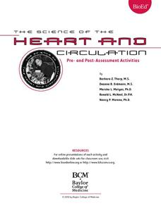 Heart and Circulation: Pre- and Post-Assessments Lesson Plan