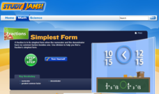 Study Jams! Simplest Form Interactive