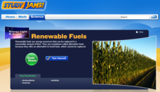 Study Jams! Renewable Fuels Interactive