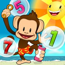 Monkey Math School Sunshine App