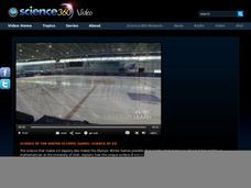 Science of the Winter Olympic Games: Science of Ice Video