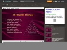 The Health Triangle Presentation