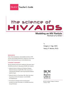Modeling an HIV Particle Lesson Plan