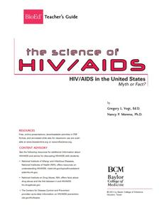 HIV/AIDS in the United States Lesson Plan