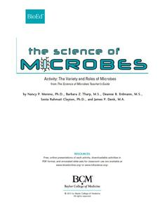 The Variety and Roles of Microbes Activities & Project