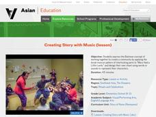 Creating Story with Music Lesson Plan