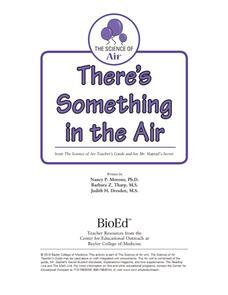 There's Something in the Air Activities & Project