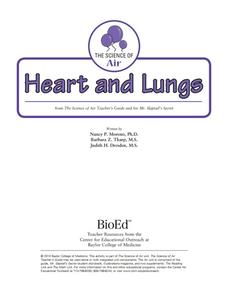 Heart and Lungs Activities & Project