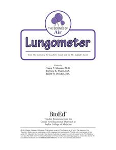 Lungometer Lesson Plan