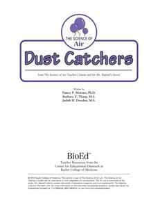 Dust Catchers Lesson Plan