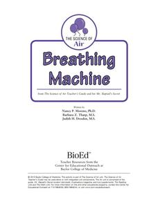 Breathing Machine Lesson Plan