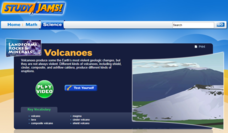 Study Jams! Volcanoes Interactive