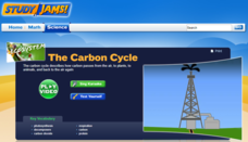 Study Jams! The Carbon Cycle Interactive