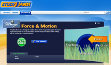 Study Jams! Force & Motion Interactive