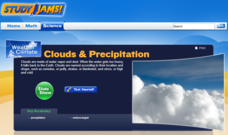 Study Jams! Clouds & Precipitation Interactive