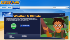 Study Jams! Weather & Climate Interactive