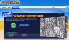 Study Jams! Weather Instruments Interactive