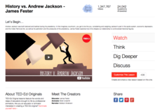 History vs. Andrew Jackson Video