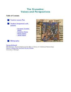 The Crusades: Voices and Perspectives Lesson Plan