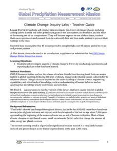 Climate Change Inquiry Lab Activities & Project