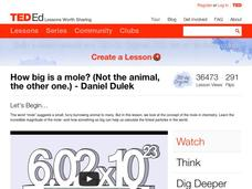 How Big is a Mole? (Not the Animal, the Other One) Video