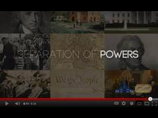 Constitutional Principles: Separation of Powers Video