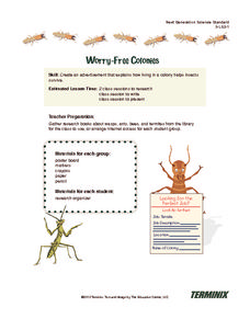 Worry-Free Colonies Lesson Plan