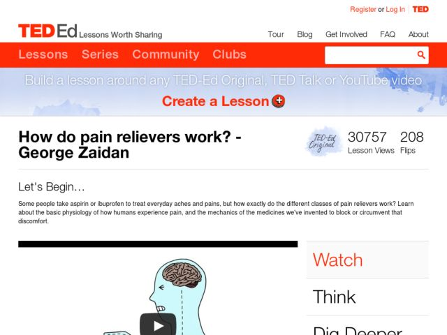 How Do Pain Relievers Work? Video
