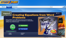 Study Jams! Creating Equations from Word Problems Interactive