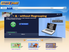 Study Jams! + & - Without Regrouping Lesson Plan